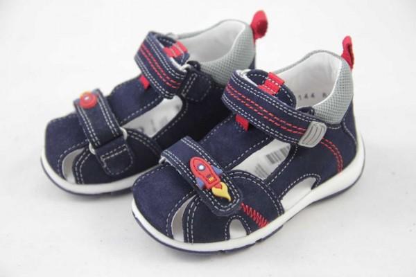 Superfit Freddy Jungen Minilette Sandale Blau Rot