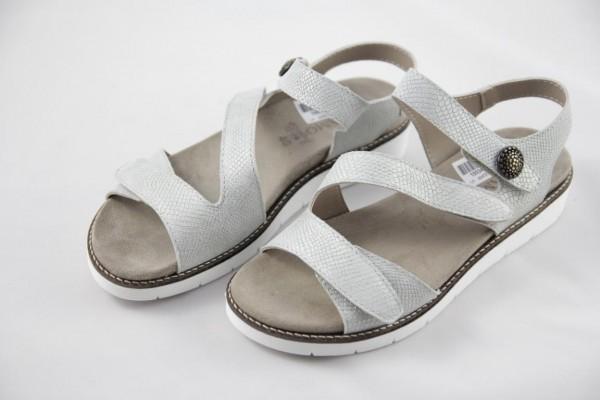 Andiamo Damen-Sandalette NORA 05 offwhite Perlatoleder 470/6425