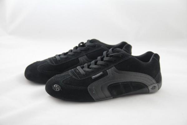 Dockers Sneaker Damen Velour schwarz / black-black