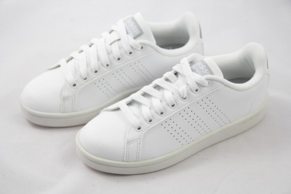 Adidas Advantage CL W Sneaker Damen Cloudfoam Leder weiss