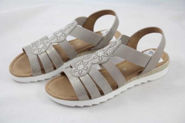 Gabor Comfort Sandale Weite G muschel flach