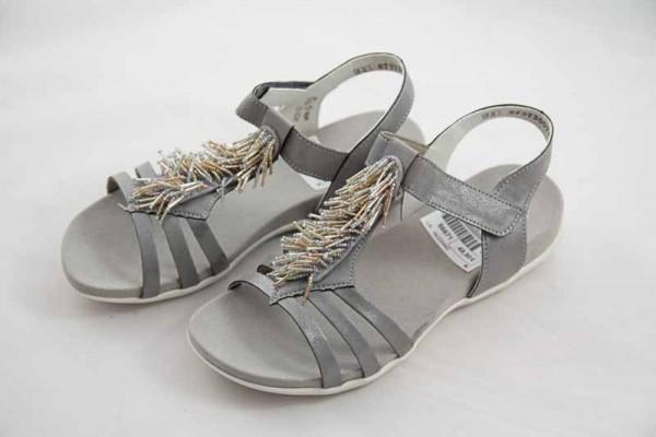 schnell verkaufend Outlet-Boutique näher an Rieker Teens Sandale Silber Mädchen