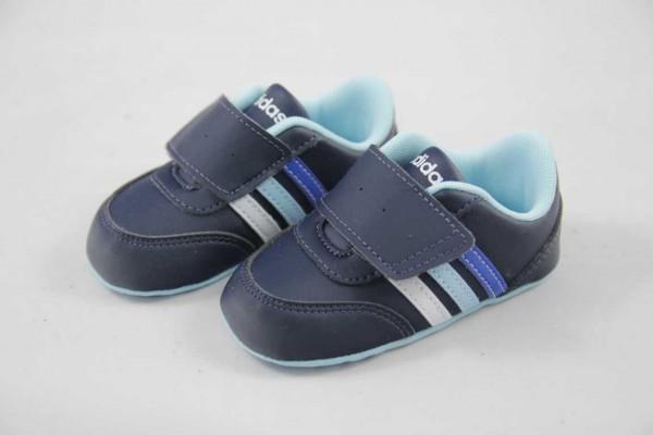 Adidas NEO V JOG CRIB Kinder Krabbelschuh navy