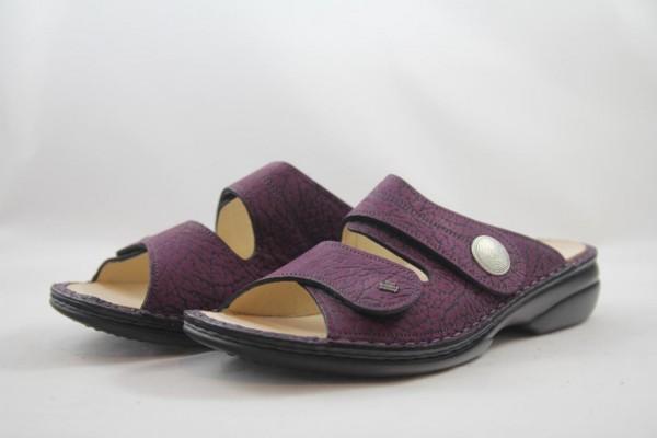 Finn Comfort Sansibar Damen Pantolette Grape violett