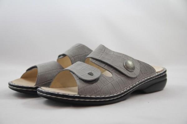 Finn Comfort Sansibar Damen Pantolette Stone grau