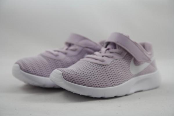 Nike Tanjun (GS) Mädchen Sneaker Sportschuh Klett iced lilac/white