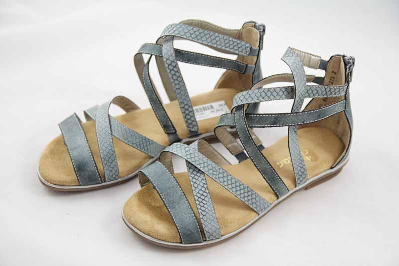 Rieker Teens Sandale Blau K0855 14 Mädchen
