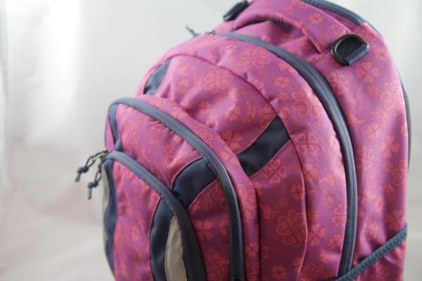 Schulrucksack YZEA GO Clover rosa/blau