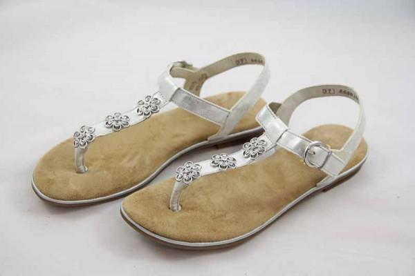 Rieker Teens Sandale Silber K0856-90 Mädchen