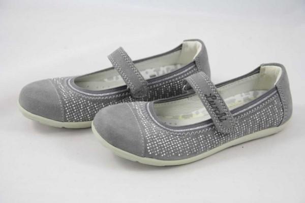 Lurchi Mara Leder Grey Gummisohle