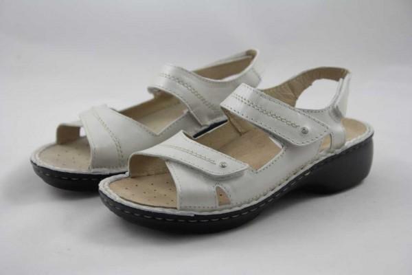 Rohde Damen Sandale elfenbein Wechselfußbett