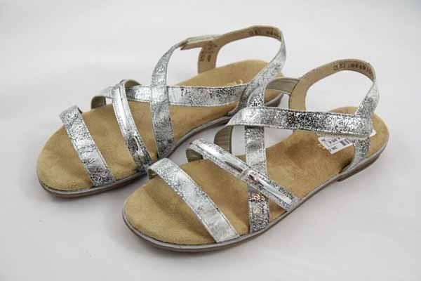 Rieker Teens Sandale Silber K0850-90 Mädchen