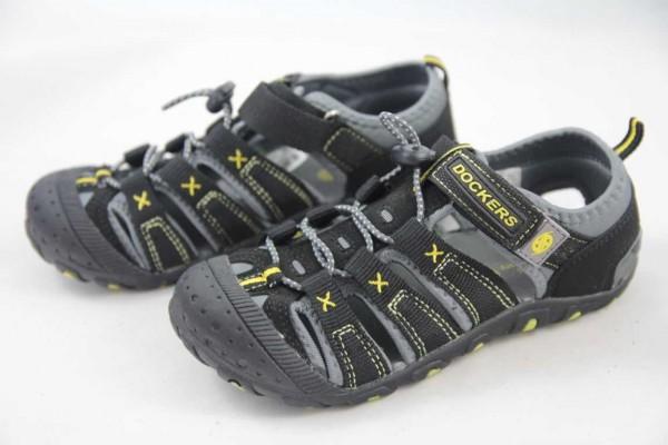 Dockers Sandale Jungen zehengeschlossen schwarz