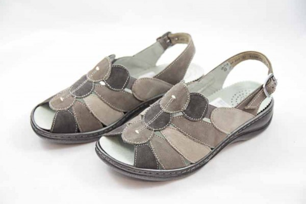 Gabor Comfort Sandale Nubuk Weite H