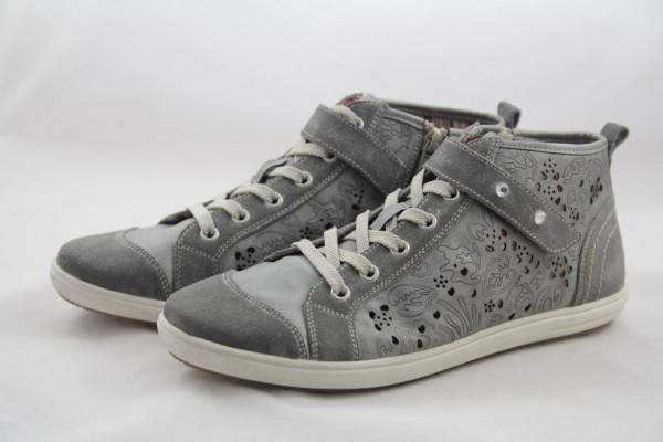 Remonte D9172-40 Damen Sneakers halbhohe Schnürstiefel