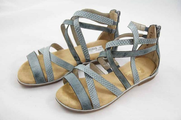 Rieker Teens Sandale Blau K0855-14 Mädchen
