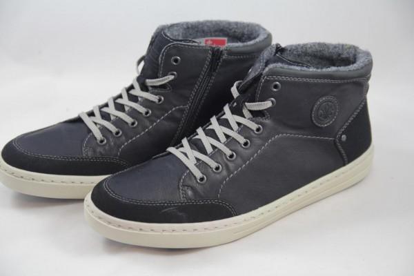 Rieker Herren Schnürstiefel Sneaker High schwarz 30912