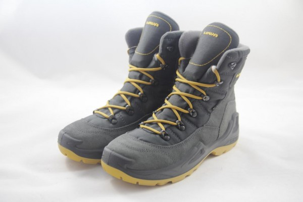 Lowa Rufus III GTX HI Boots unisex anthrazit/gelb 650546 9750