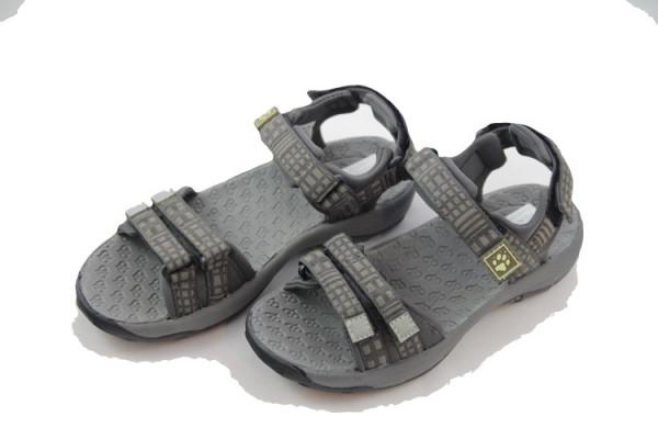 JACK WOLFSKIN Monterey Sandal W Sandalen, Farbe braun-kombi