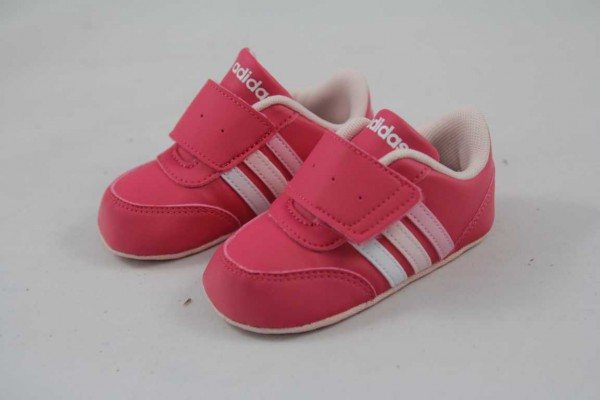 Adidas NEO V JOG CRIB BC0090 Mädchen Krabbelschuh pink klett