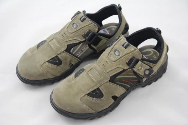 Dockers Herren Sandale Sandalette Trekking grün