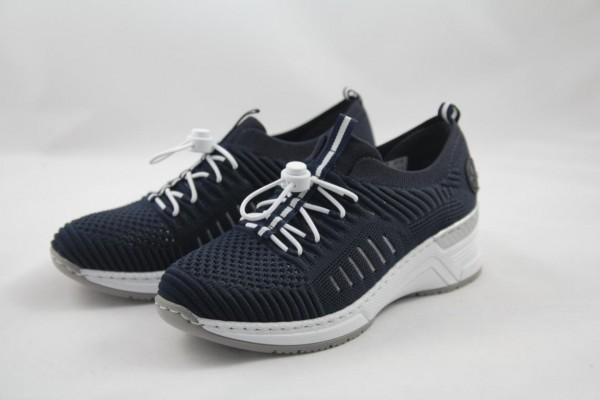 Rieker Sneaker Slipper blau