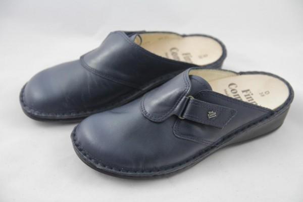 Finn Comfort ORB Pantolette Nappa Blau 2506
