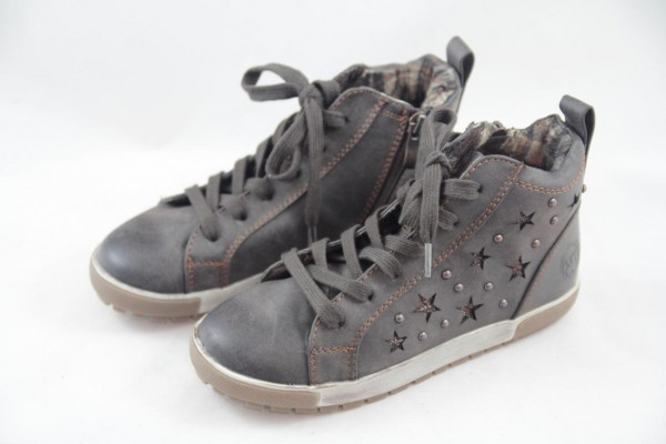 Marco Tozzi Mädchen Sneaker High mocca 2-45210-23