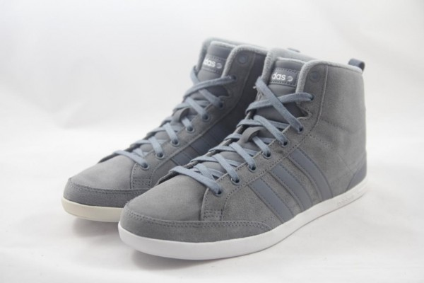 Adidas Caflaire Mid Neo Herren Sneaker Mid Velour grau