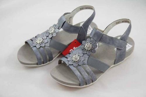 Details zu Rieker Teens Sandale blau K2266 12